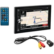 "Planet Audio Pnv9650rc 6.5"" Double-din In-dash Navigation Touchscreen Dvd Receiver With Bluetooth (with Rear Camera)"