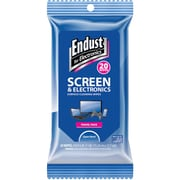 Endust Efe14705 Screen & Electronic Wipes Soft Pack, 20 Ct