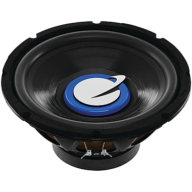 Planet Audio Tq10s Torque Series Single Voice-coil Subwoofer (10