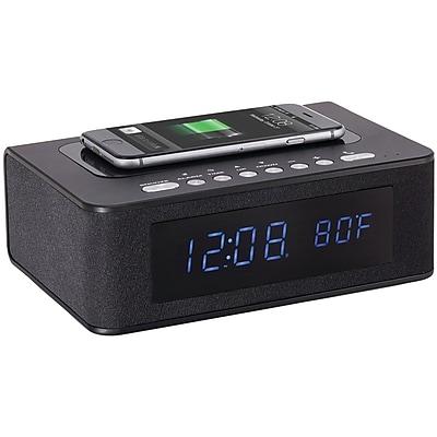 Sxe Sxe87005 Wireless-charging & Bluetooth Digital Alarm Clock