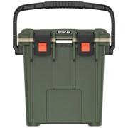 Pelican 20q-2-odtan 20-quart Elite Cooler (green/tan)