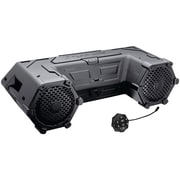 "Planet Audio Patv85 Powersports Series Waterproof All-terrain Sound System With Bluetooth & Led Light Bar (8"", 700 Watts)"