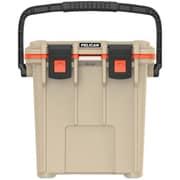 Pelican 20q-2-tanorg 20-quart Elite Cooler (tan/orange)