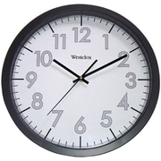 "Westclox 32067 14"" Round Office Wall Clock"
