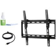 """Fino Ft44k2 24""""-55"""" Medium Tilt Mount With Hdmi Cable & Screen Cleaner"""
