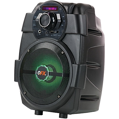 Qfx Pbx-5 1,500-watt Pbx-5 Rechargeable Bluetooth Party Speaker