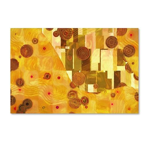 "Trademark Fine Art Adam Kadmos 'GoldenAge' 12"" x 19"" Canvas Stretched (190836065820)"