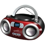 Supersonic Sc-509bt Red Portable Bluetooth Audio System (red)