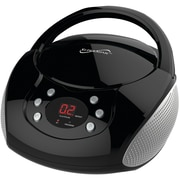 Supersonic Sc-515bt-blk Bluetooth Portable Audio System With Cd Player (black)