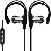 Supersonic Iq-131bt-black Sweatproof Bluetooth Sport Earbuds With Microphone (black)