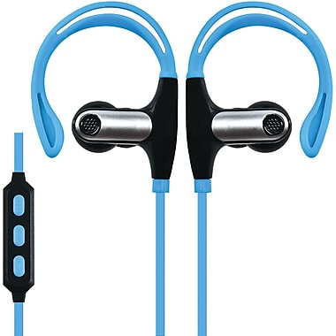 Supersonic Iq-131bt-blue Sweatproof Bluetooth Sport Earbuds With Microphone (blue)