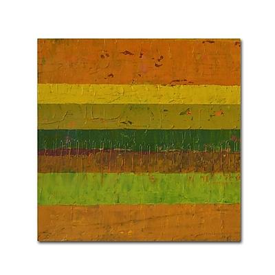 Trademark Fine Art Michelle Calkins 'Purple Line' 18