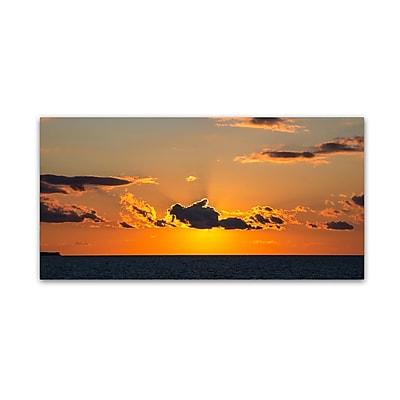 Trademark Fine Art Kurt Shaffer 'Sunset Beauty' 10