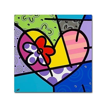 Trademark Fine Art Roberto Rafael 'Big Heart III' 18