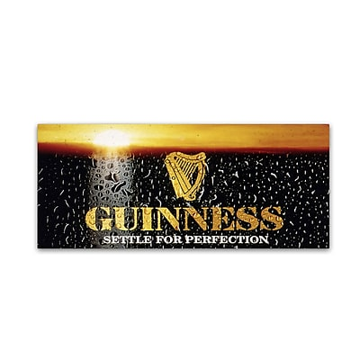 Trademark Fine Art Guinness Brewery 'Settle For Perfection' 10