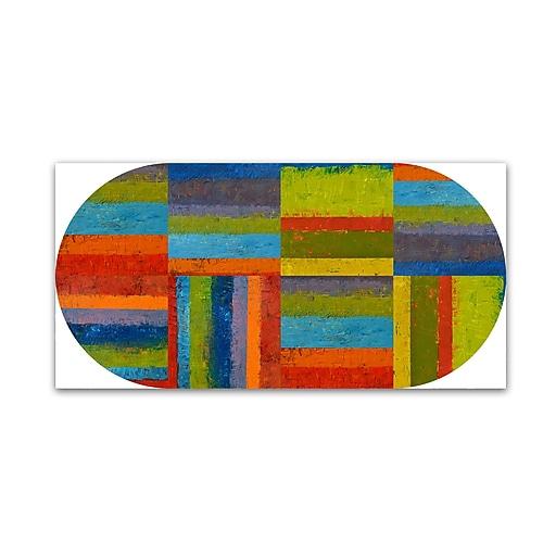 "Trademark Fine Art Michelle Calkins 'Big Pill'  12"" x 24"" Canvas Stretched (886511966550)"