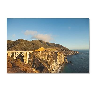 Trademark Fine Art Ariane Moshayedi 'Bixby Bridge' 12