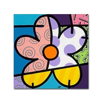 Trademark Fine Art Roberto Rafael 'Big Flower IV' 18