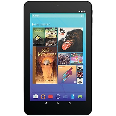 """Ematic EGQ347BL 7"""" HD Quad-Core Android 5.0 8GB Tablet with Bluetooth"""