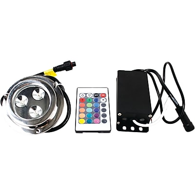 Marine Sport Ms3ledrgb 3-led Rgb Underwater Light