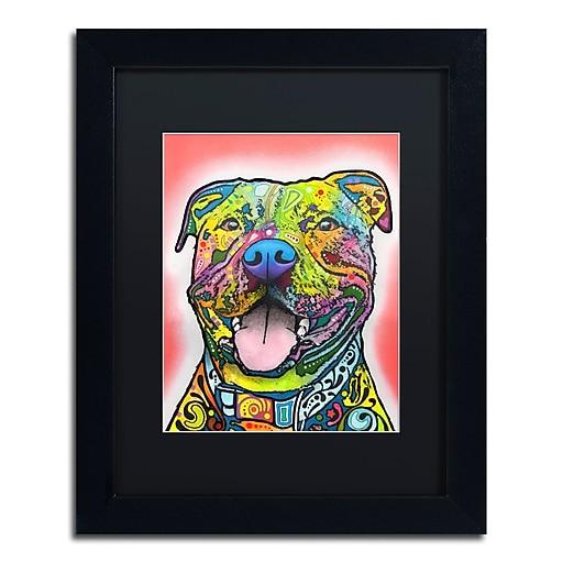 "Trademark Fine Art Dean Russo 'Blanche' 11"" x 14"" Matted Framed (190836164288)"