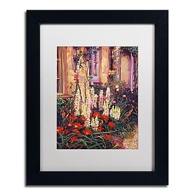 Trademark Fine Art David Lloyd Glover 'English Cottage Garden' 11