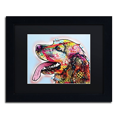 "Trademark Fine Art Dean Russo 'Cocker Spaniel' 11"" x 14"" Matted Framed (190836161133)"