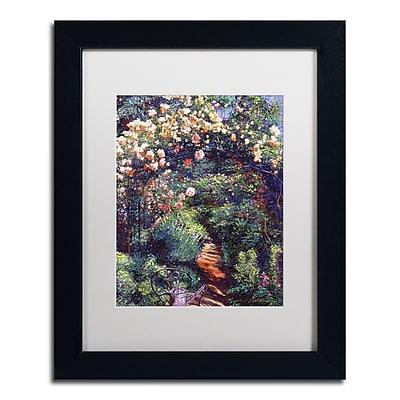 Trademark Fine Art David Lloyd Glover 'Rose Arbor Pathway' 11