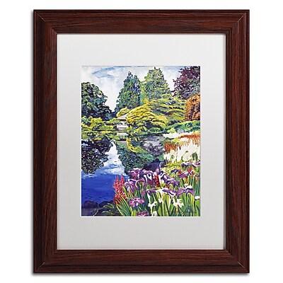 Trademark Fine Art David Lloyd Glover 'Tea House Lake' 11