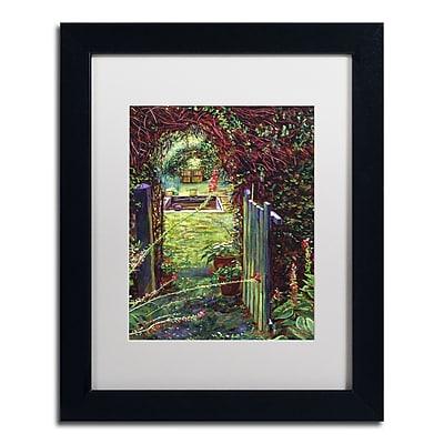 Trademark Fine Art David Lloyd Glover 'Wicket Garden Gate' 11