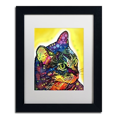 Trademark Fine Art Dean Russo 'Confident Cat' 11