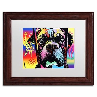 Trademark Fine Art Dean Russo 'Choose Adoption Boxer' 11
