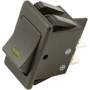 Battery Doctor 20530 On/off Orange Illuminated 20-amp Rocker For 20mm X 34.5mm Slot