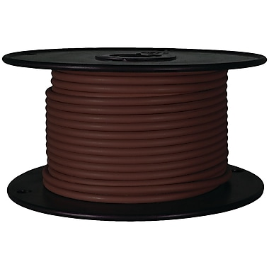 Battery Doctor 81041 Gxl Crosslink Wire, 100ft Spool (18 Gauge, Brown)