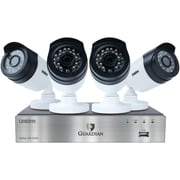 Uniden G6840d1 Guardian 1080p 1tb Dvr With Outdoor Bullet Cameras (8-channel, 4 Cameras)