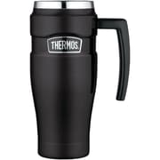 Thermos Sk1000bktri4 Stainless King Vacuum-insulated Travel Mug, 16oz (matte Black)