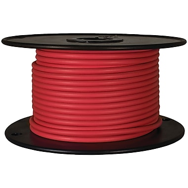 Battery Doctor 81043 Gxl Crosslink Wire, 100ft Spool (18 Gauge, Red)