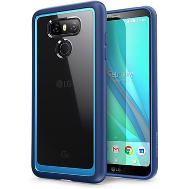 LG Cell Phone Case G6 Halo Clear/Blue (LGG6 HALO CL/BE)