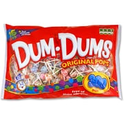 Dum-Dums Lollipops, Assorted, 80 Oz., 300/Pack (20060)