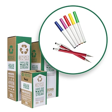TerraCycle Pens, Pencils and Markers Zero Waste Recycling Box, Small (50928)