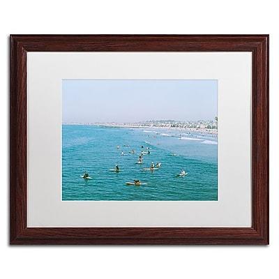 Trademark Fine Art Ariane Moshayedi 'Newport Beach Surfers' 16