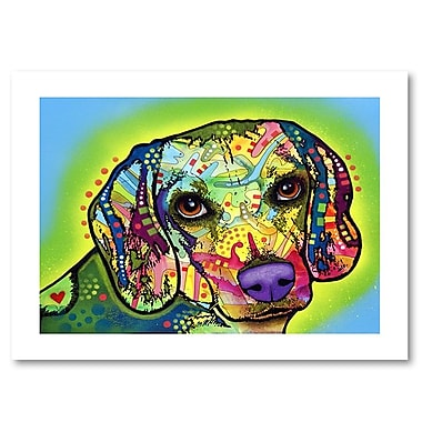Trademark Fine Art Dean Russo 'Beagle' 18