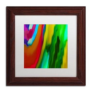 Trademark Fine Art Amy Vangsgard 'River Runs Through Square 1' 11