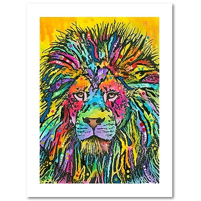 Trademark Fine Art Dean Russo 'Lion Good' 18