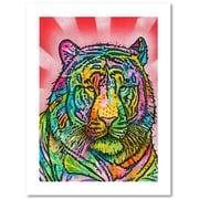 "Trademark Fine Art Dean Russo 'Tiger II' 18"" x 24"" Paper Rolled (190836135622)"