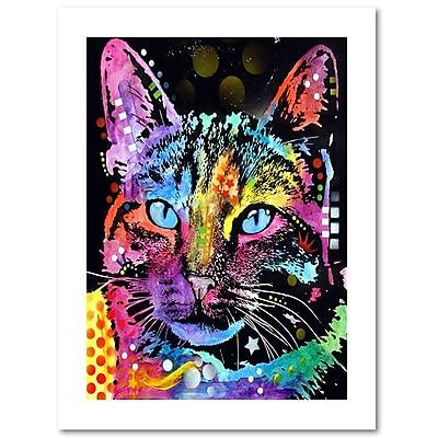 Trademark Fine Art Dean Russo 'Thoughtful Cat' 18