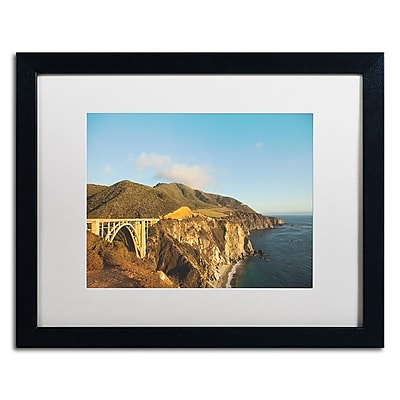 Trademark Fine Art Ariane Moshayedi 'Bixby Bridge' 16