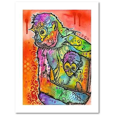 Trademark Fine Art Dean Russo 'Monkey 1' 18