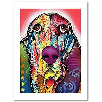 Trademark Fine Art Dean Russo 'Basset' 18