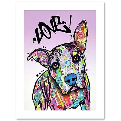 Trademark Fine Art Dean Russo 'Love!' 18